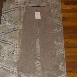 Zara elastic flare pants